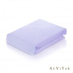 200х200х20 Фиолет простыня трикотажная на резинке